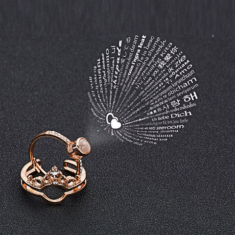 Resizable Elegant Female Fashionable Ring