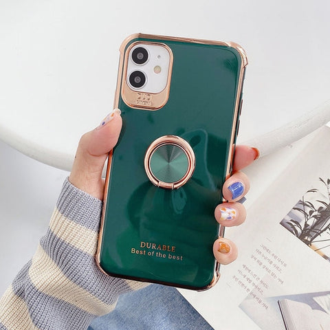 Finger ring luxury Iphone Cover