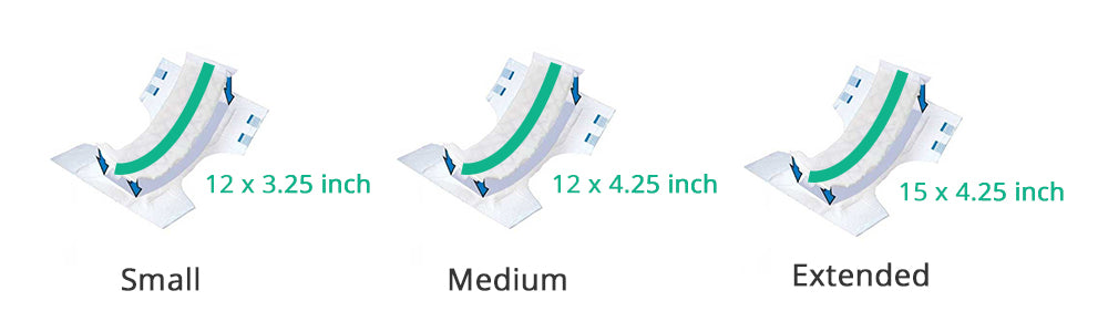 Booster Pad Sizes