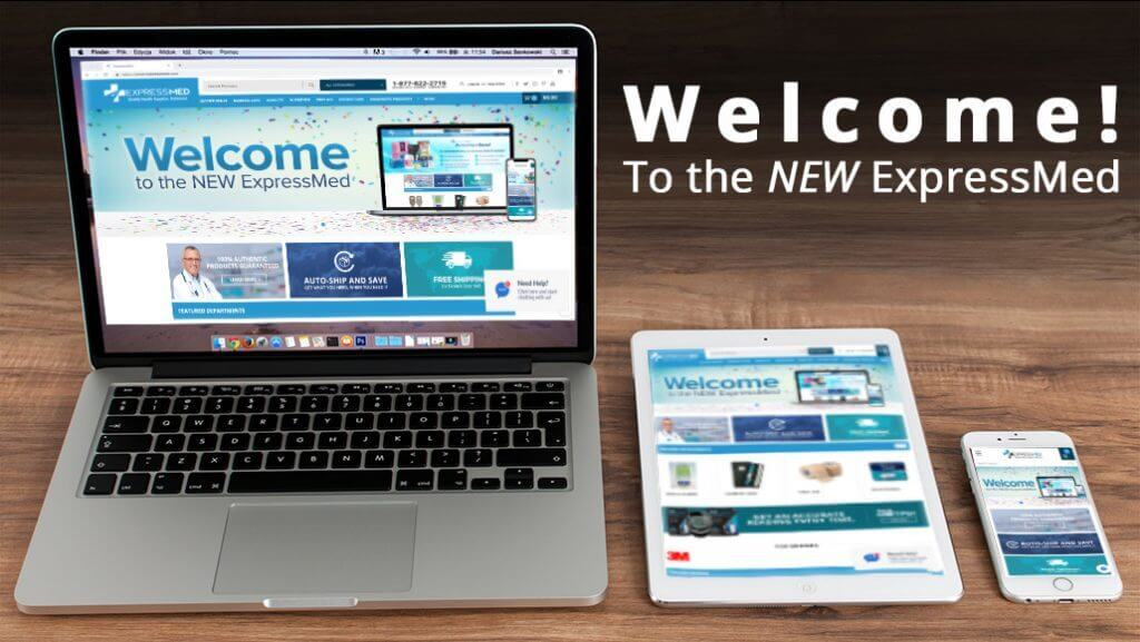 Welcome to the New ExpressMed.com!