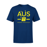 AOC Modern Pentathlon Adults Navy Supporter Tee