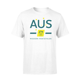 AOC Modern Pentathlon Kids White Supporter Tee