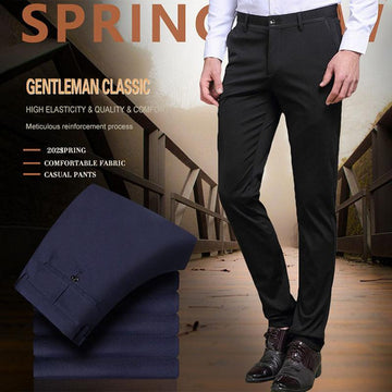 (Father's Day Promotion)High Stretch Men's Classic Pants