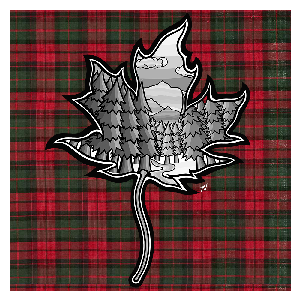 The Maple Leaf Print
