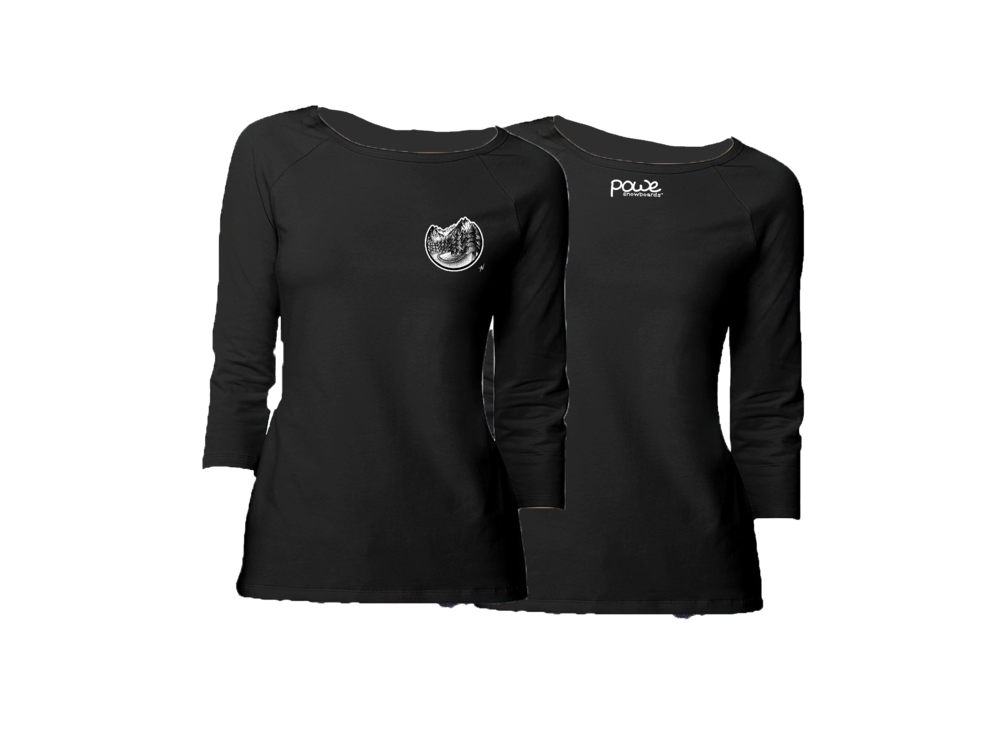 Women's Long Sleeve (Black)