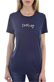 Tommy Jeans Femme Flag On Script Tee T-Shirt