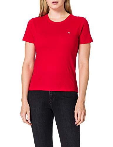 Tommy Jeans Jersey Tee T-Shirt Femme