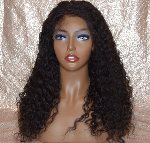 Glue-less Lace Premium Virgin Closure Natural Wave Wig Unit | The Regal Crown