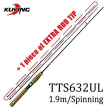 Load image into Gallery viewer, KUYING TETON Combo  Carbon Baitcasting Spinning Lure Fishing Rod