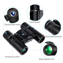 Load image into Gallery viewer, APEXEL 8x21 Compact Zoom Binoculars 1000m Folding HD