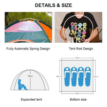 Load image into Gallery viewer, Waterproof Foldable Automatic Quick Opening Outdoor Tent
