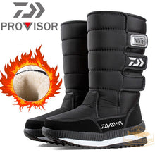 Load image into Gallery viewer, DAIWA Fishing Shoes Plus Velvet Warm Non-slip Waterproof High Top Winter Boots