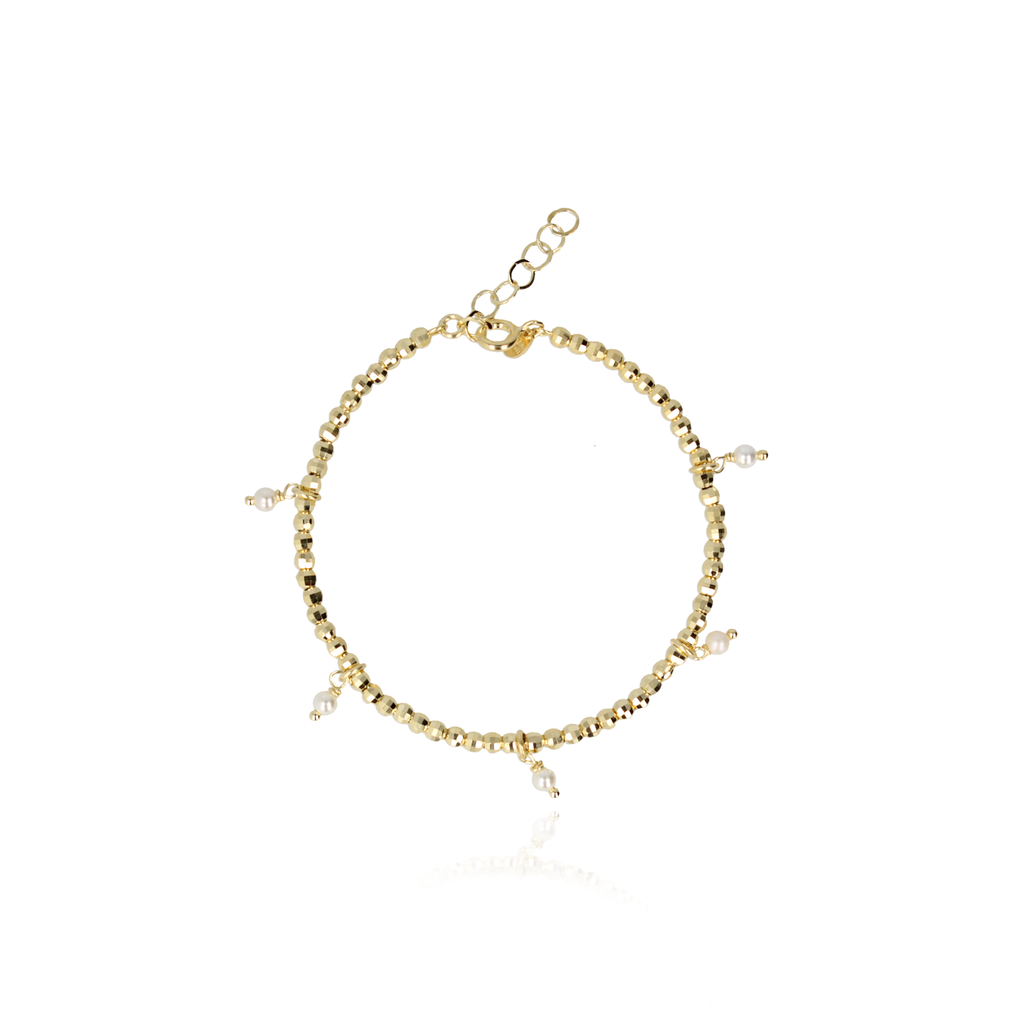 Lott. Gioielli - Bracelet new diam with pearls