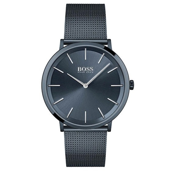 Boss Skyliner - Confidence blauw 40 mm heren