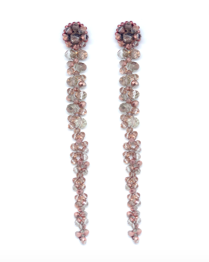 Paulie Pocket - Lovely Beads Pink statement