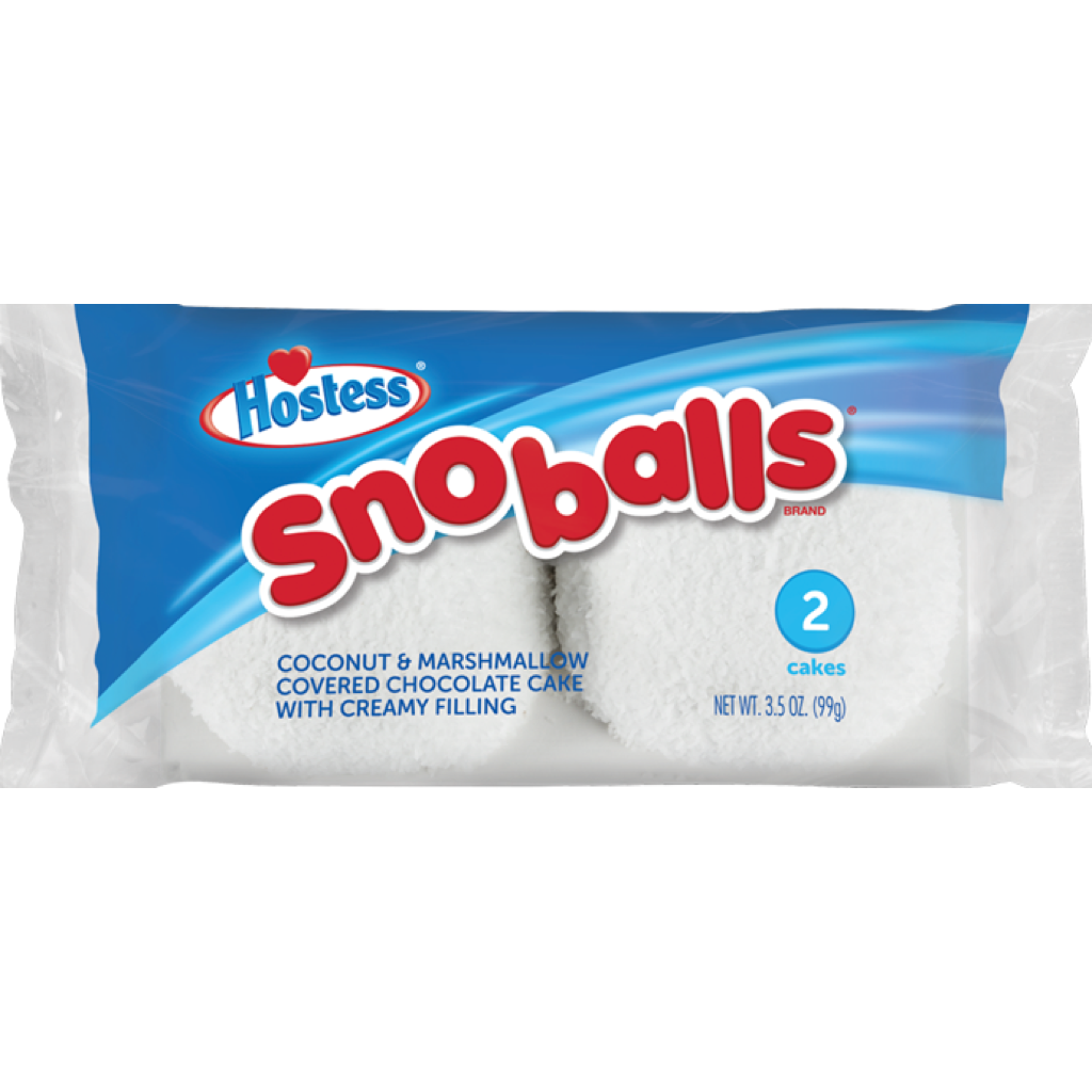 Hostess Coconut Snowballs 99g