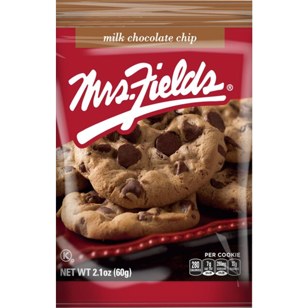 Mrs Fields Choc Chip Cookies 60g