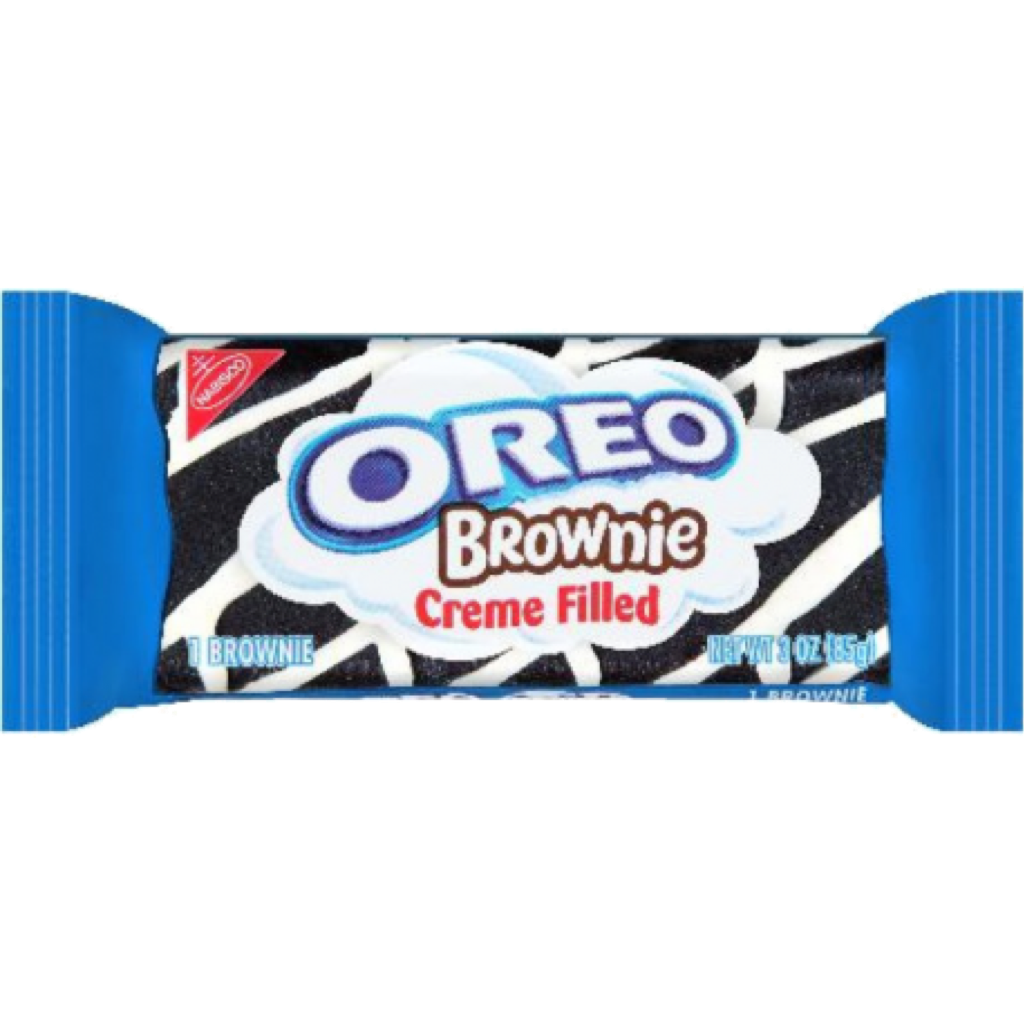 Oreo Cream Filled Brownie 85g