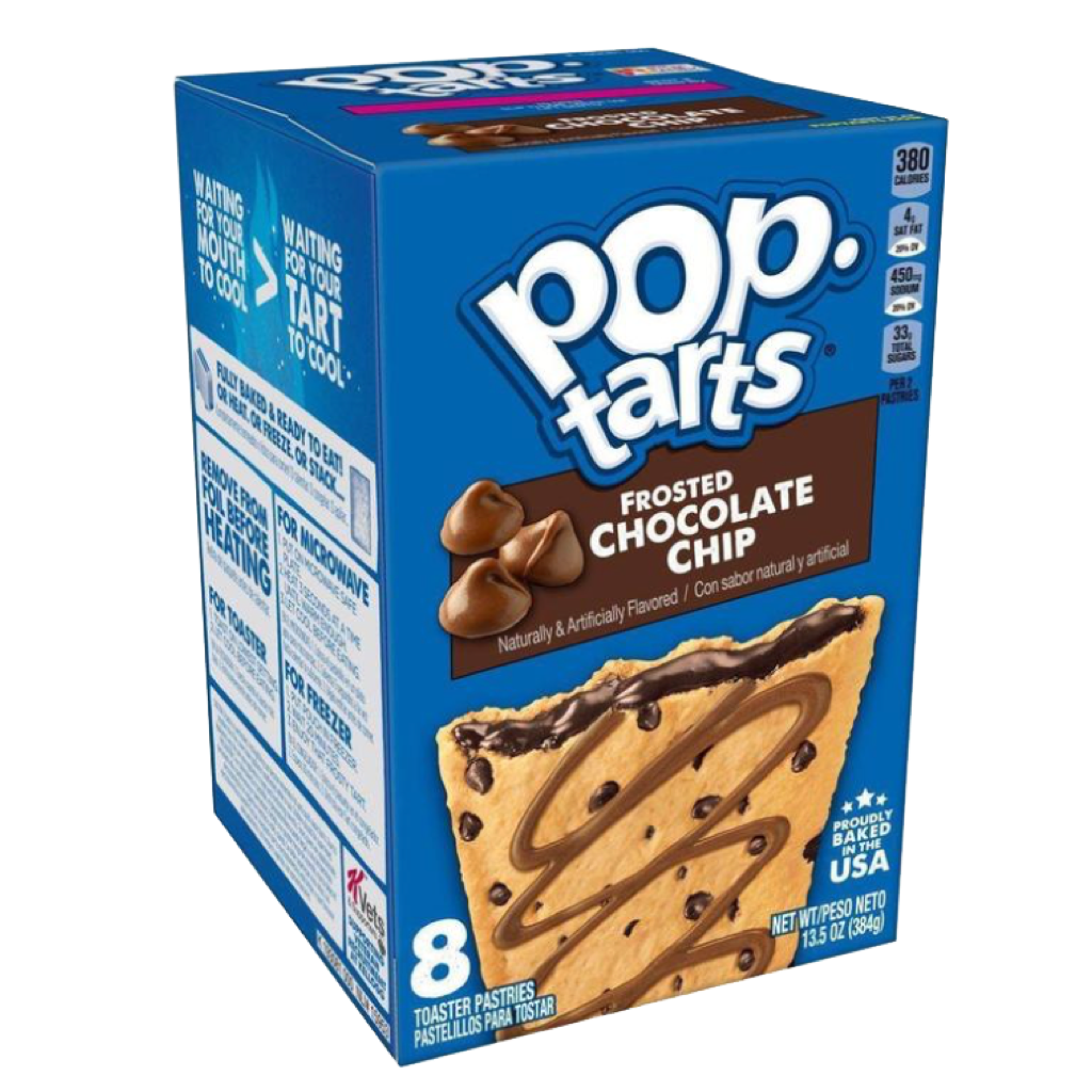 Pop Tarts Chocolate Chip Cookie Dough 390g