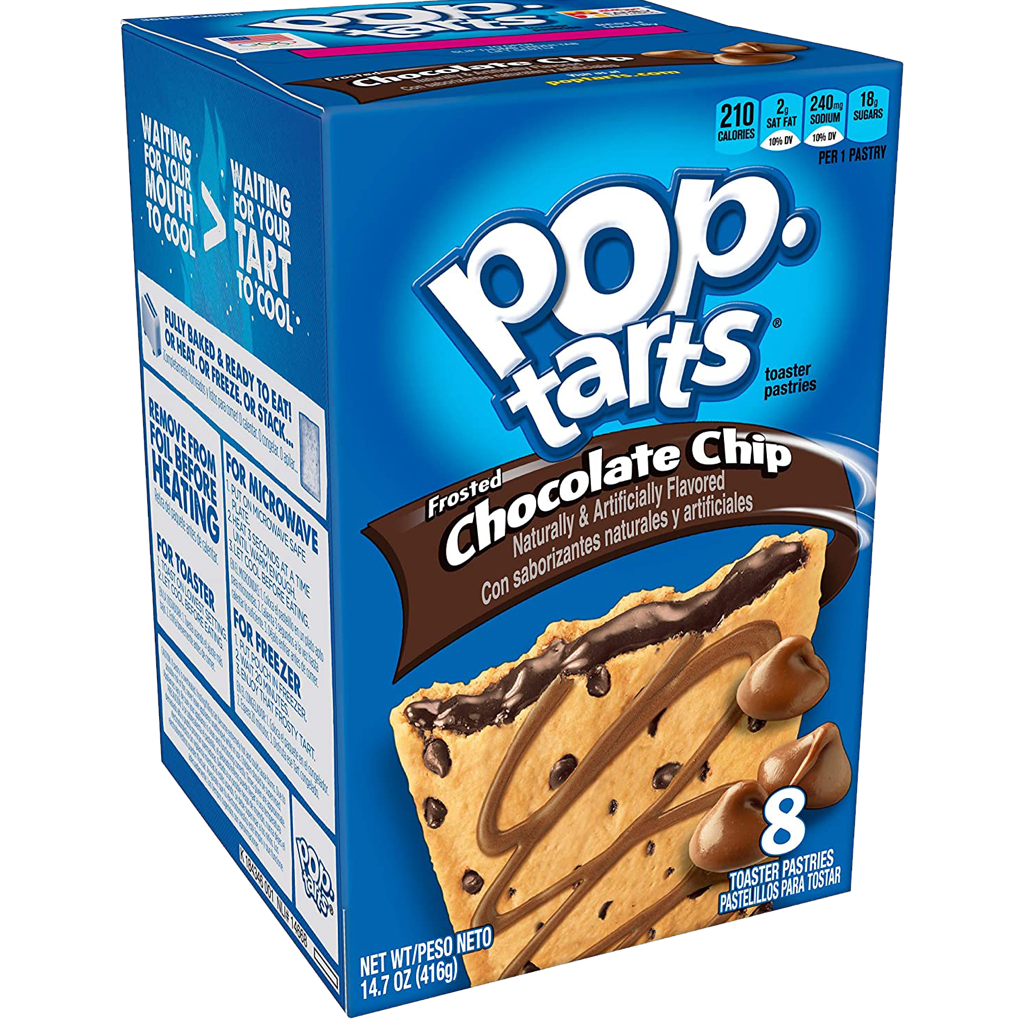 Pop Tarts Frosted Chocolate Chip