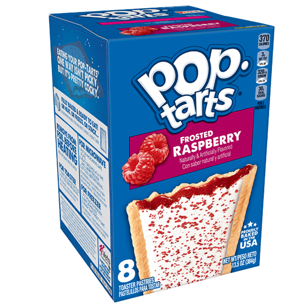 Pop Tarts Frosted Raspberry 390g
