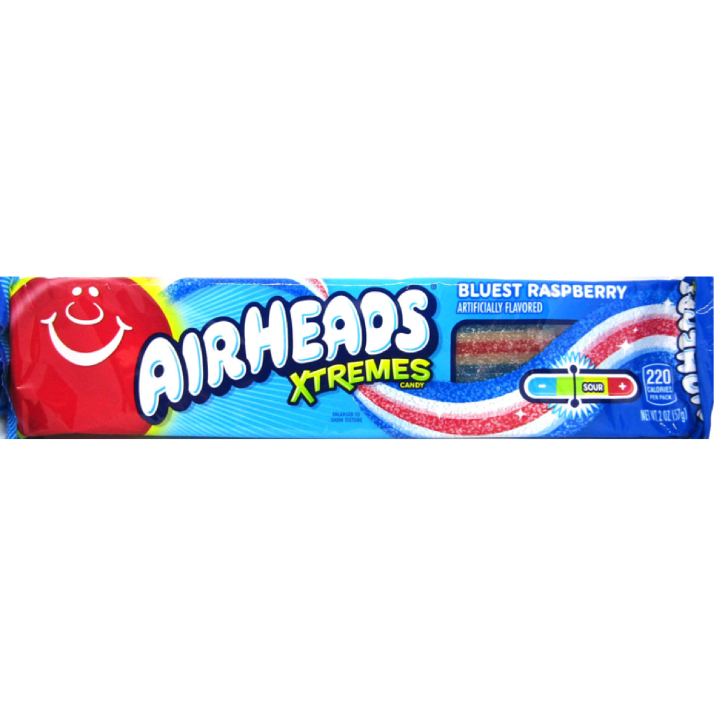 Airhead Xtremes Bluest Raspberry 57g