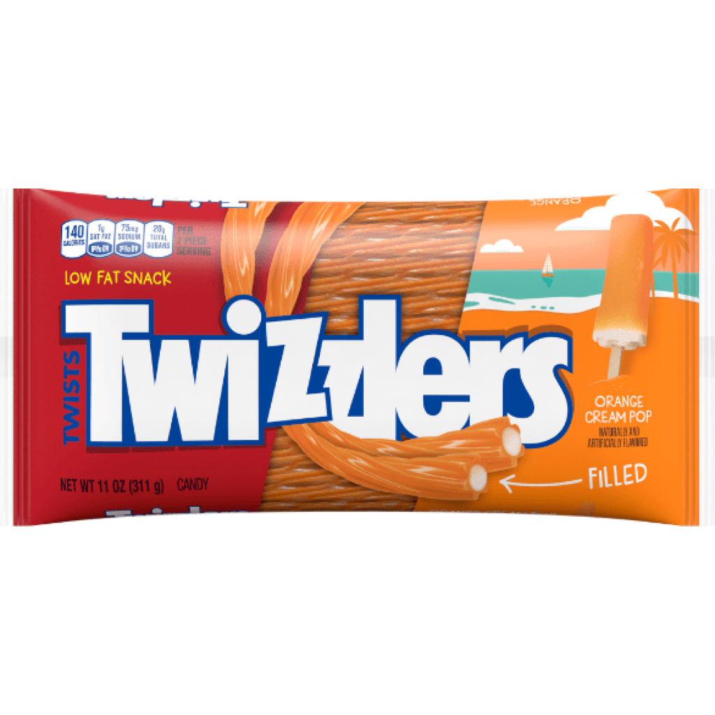 Twizzlers Orange Filled 311g