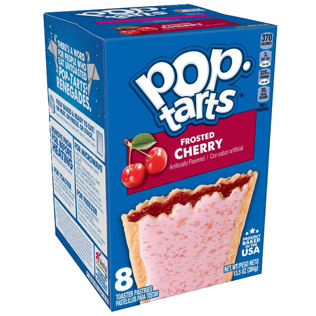 Pop Tarts Frosted Cherry 390g