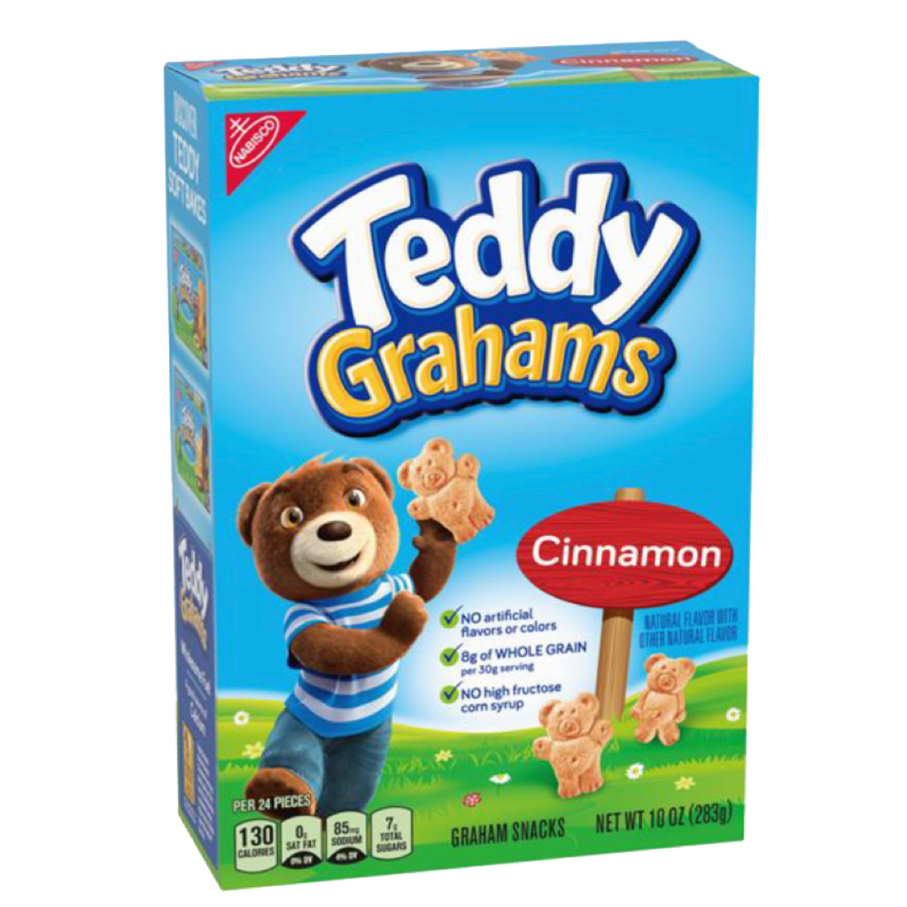 Teddy Grahams Cinnamon 300g