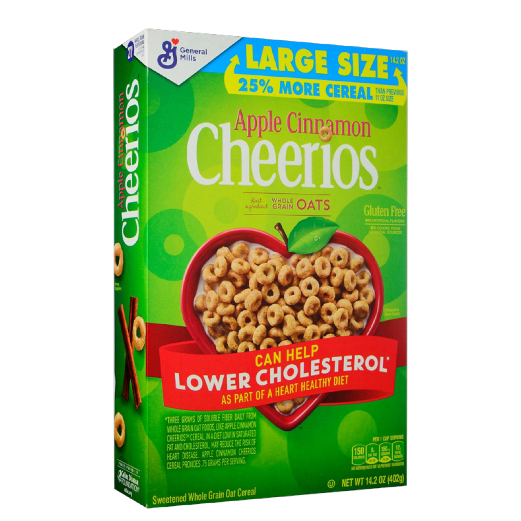 Cheerios Apple cereal 402g