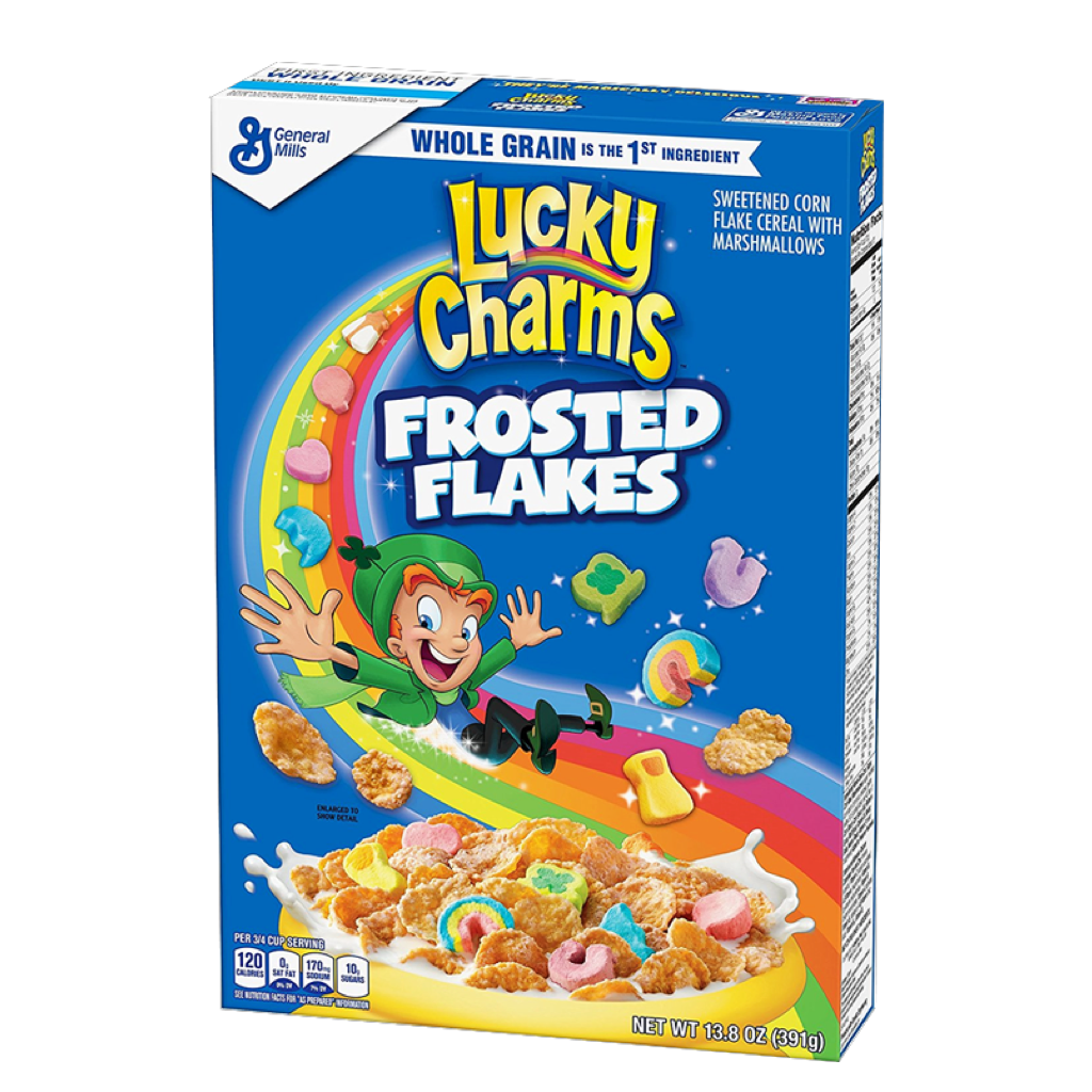 Lucky Charm Frosted Flakes Cereal 391g