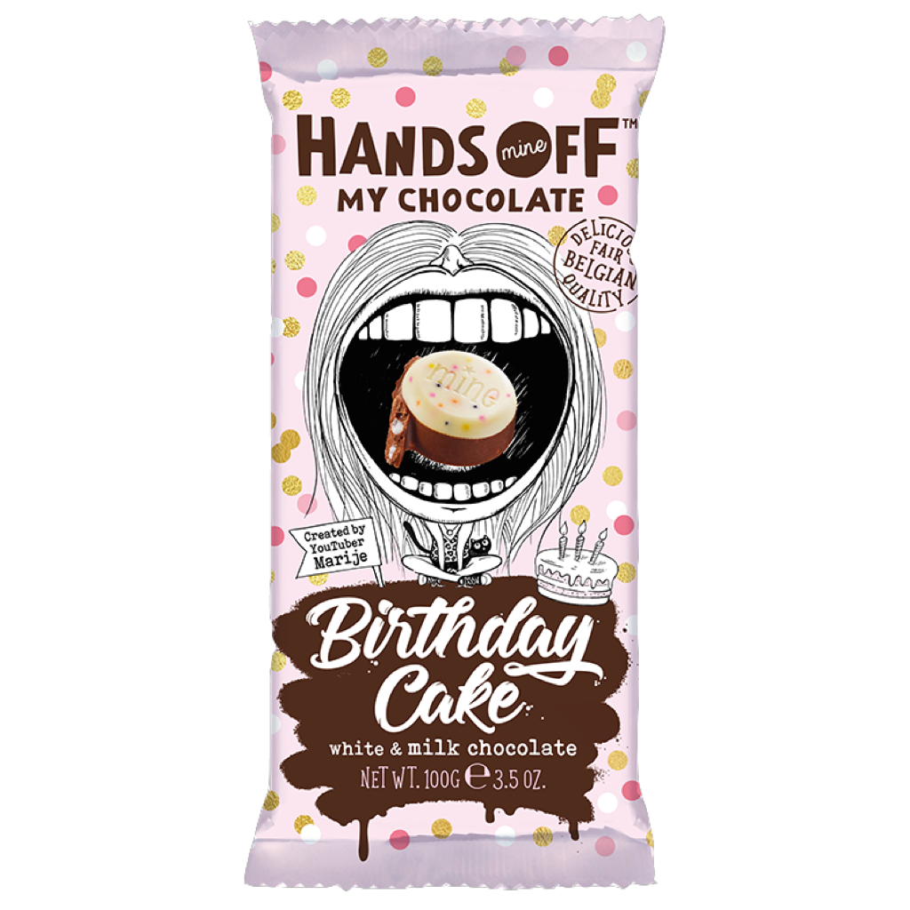 Hands Off My Chocolate Birthday Cake 100g