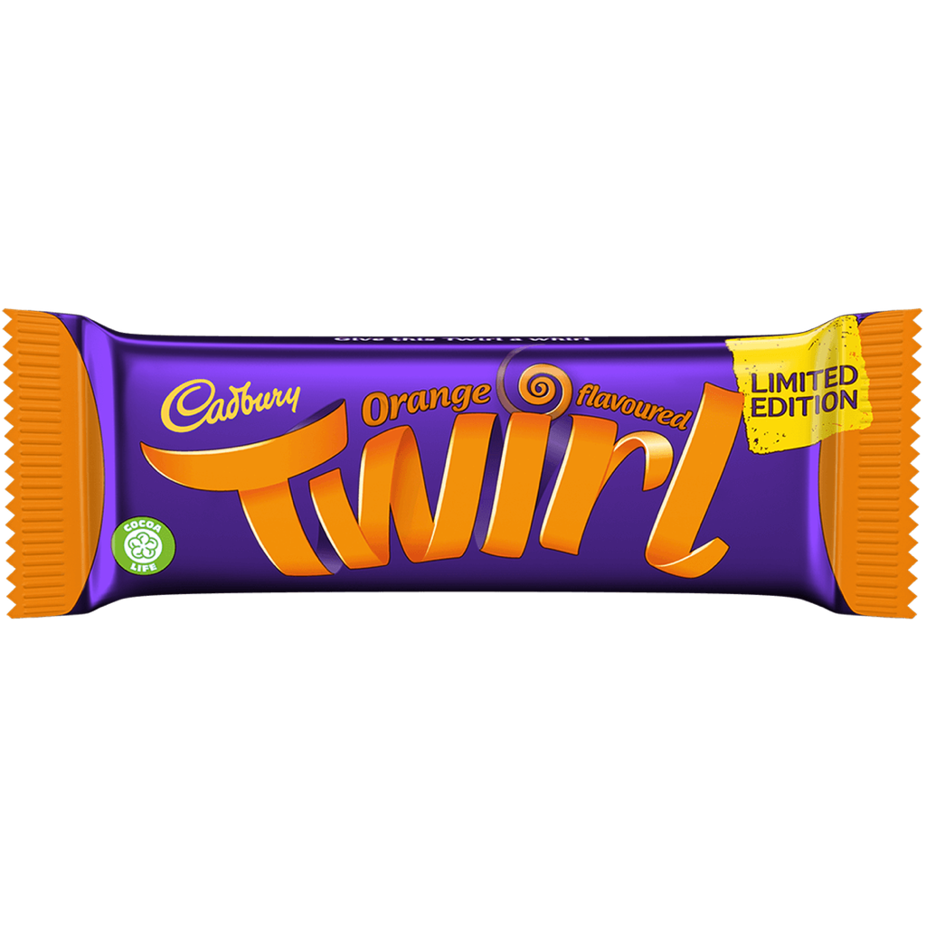 Twirl Orange 43g
