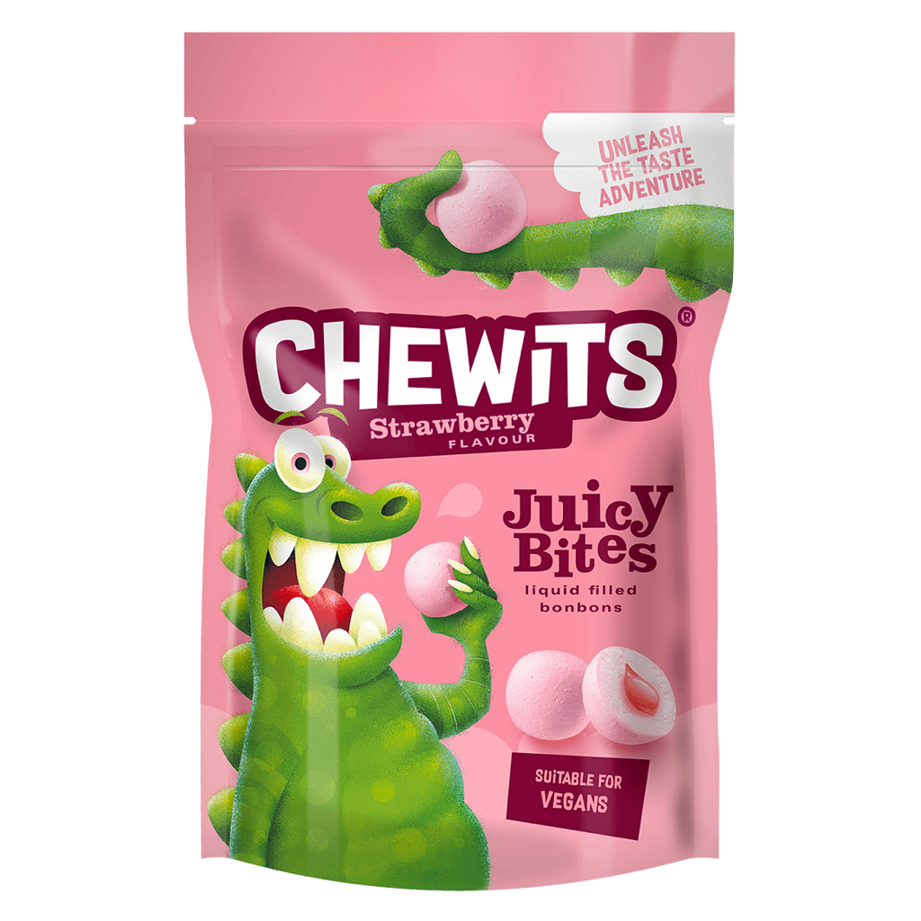 Chewits Juicy Bites Strawberry 145g