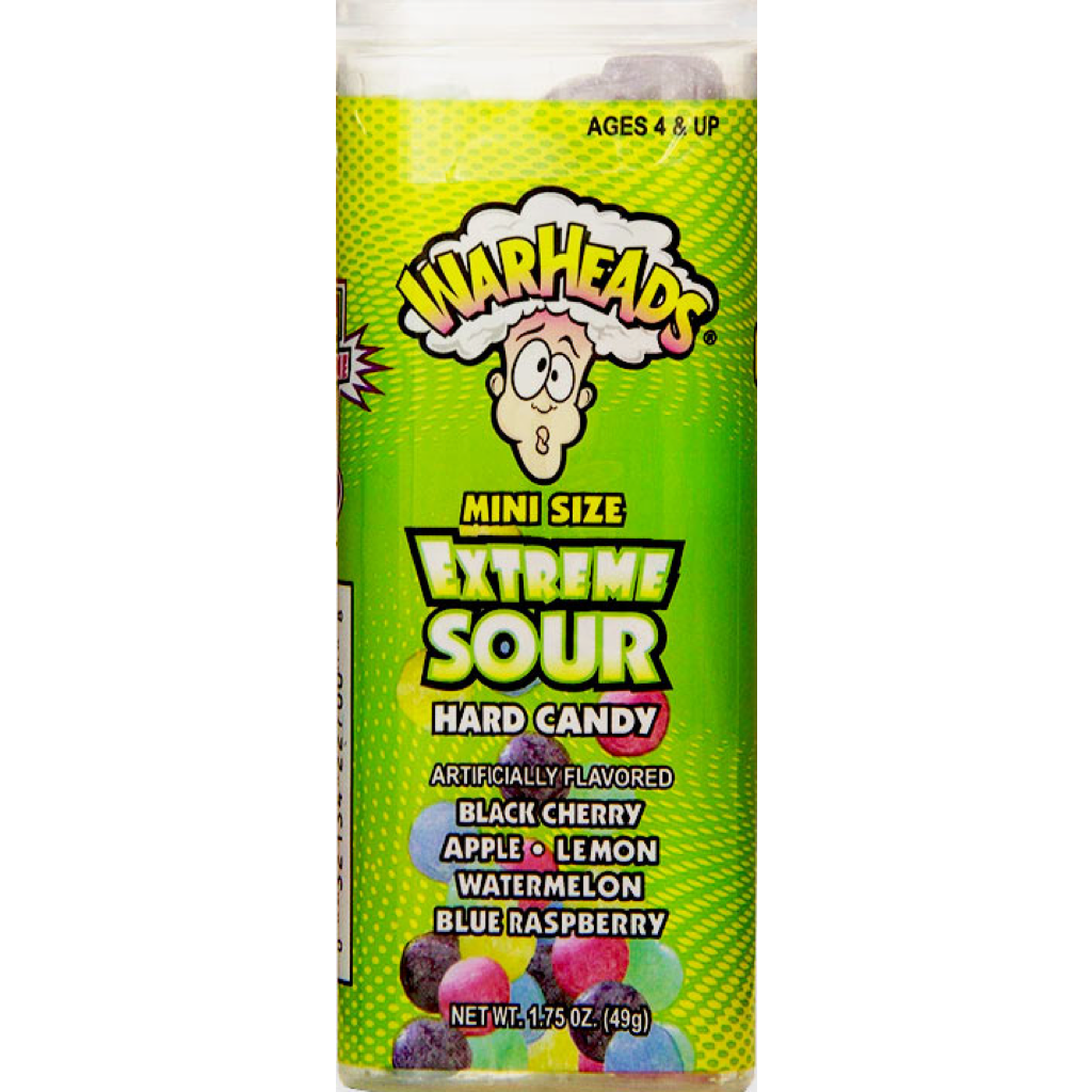 Warheads Extreme Sour Minis 60g