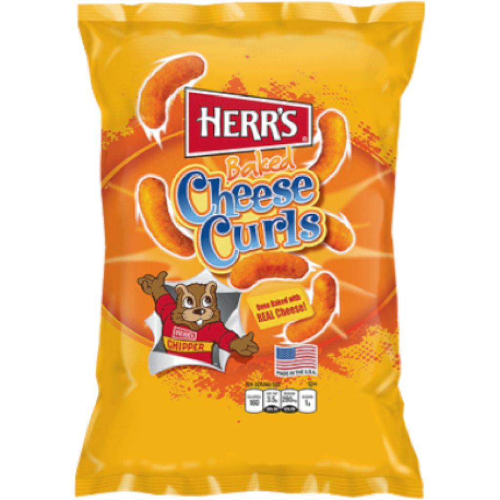 Herr's Baked Cheese Curls 200g