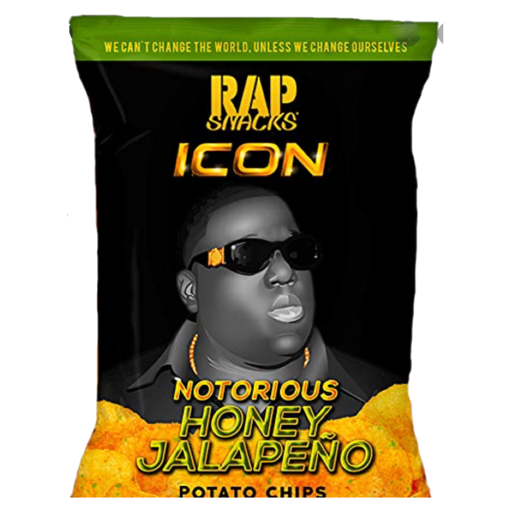Rap Snacks Honey Jalapeño Crisps 28g