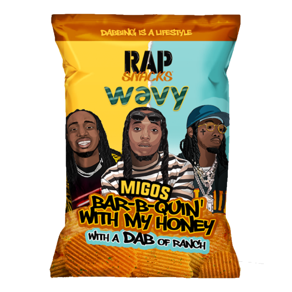 Rap Snacks Crisps 28g 'Bar-B-Quin'