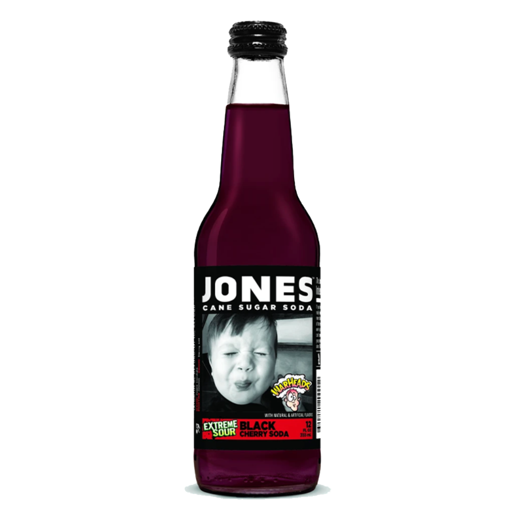 Jones Black Cherry Soda