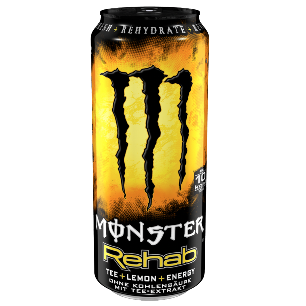 Monster Tea & Lemon Drink 500ml