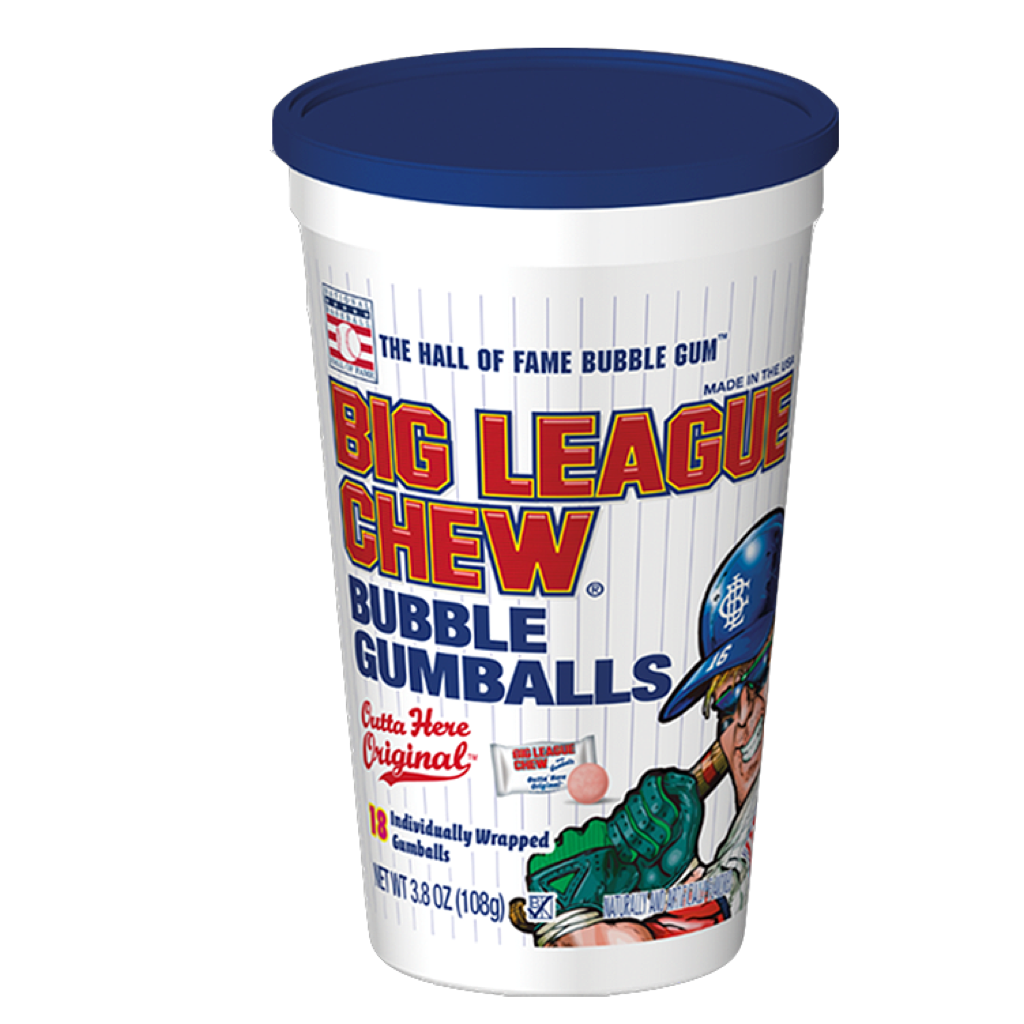 Big League Chew Bubble Gumballs  108g