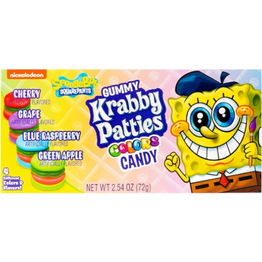 Krabbie Patties Colours 72g