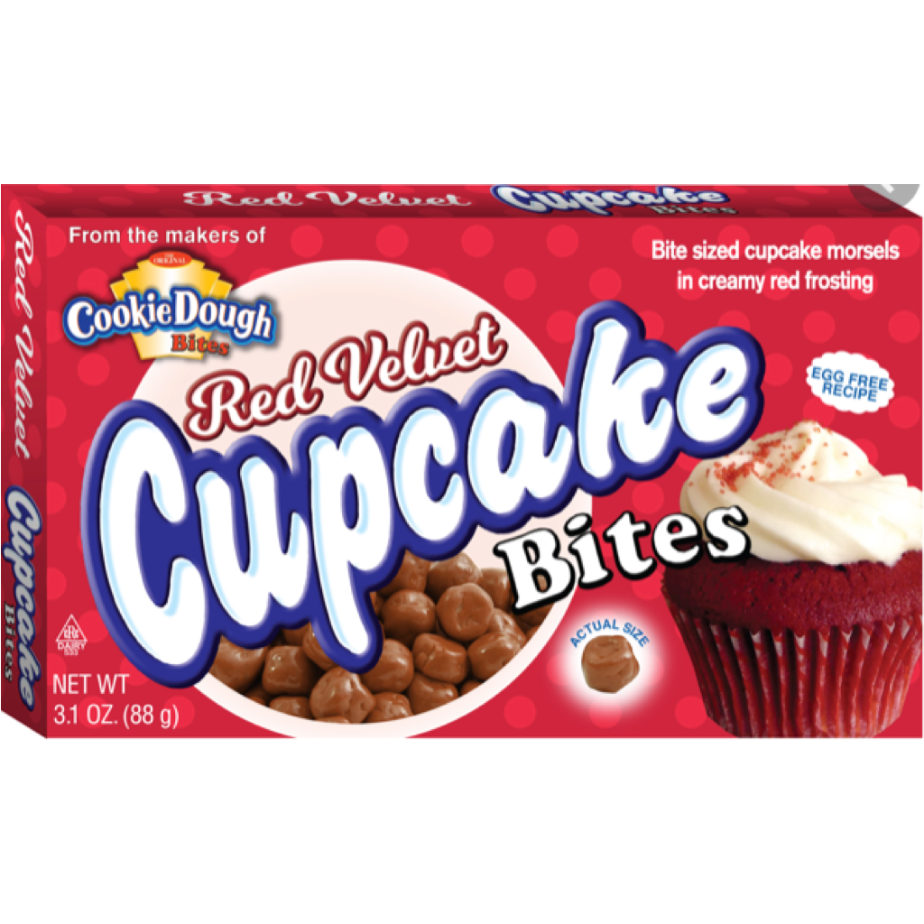 Red Velvet Cupcake Bites Cookie dough 88g