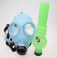 Load image into Gallery viewer, Glow in the Dark Gas Mask