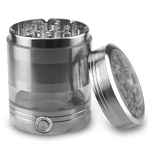 Grey Graceful Sonic LED Grinder