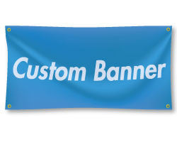 Custom Design - Banners: 3'x10' Banner - StickerShark