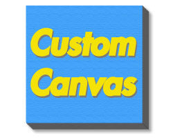 "Custom Design - canvas: 16""x20"" canvas - StickerShark"