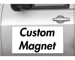 "Custom Design - vehicle magnets: 12""x24"" vehicle magnet - StickerShark"