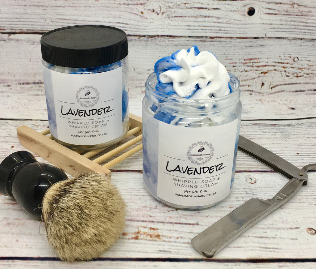 Luxurious Whipped Soap And Shaving Cream