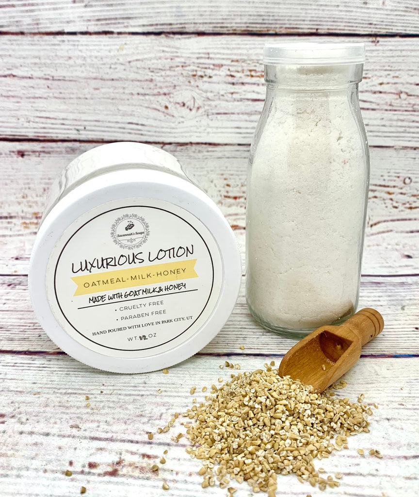 Luxurious Oatmeal, Milk & Honey Lotion